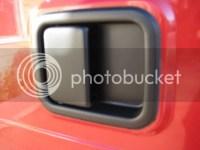 JeepForum.com - I Plasti-Dipped my door handles.