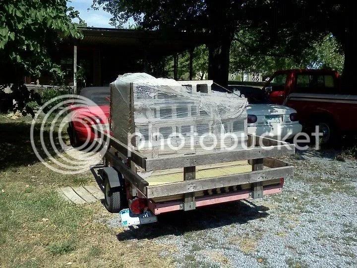 Harbor Freight Trailer Deck