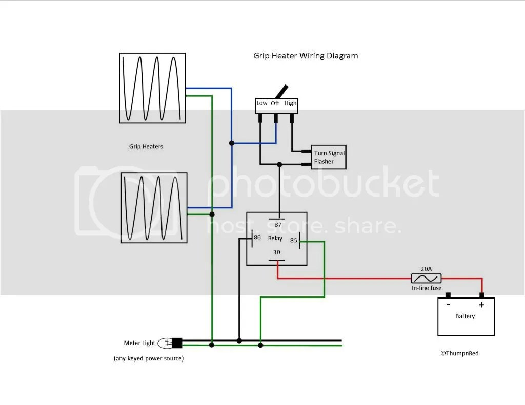 wiring lights and outlets on same circuit diagram york heating air conditioning diagrams xr650l power outlet adventure rider
