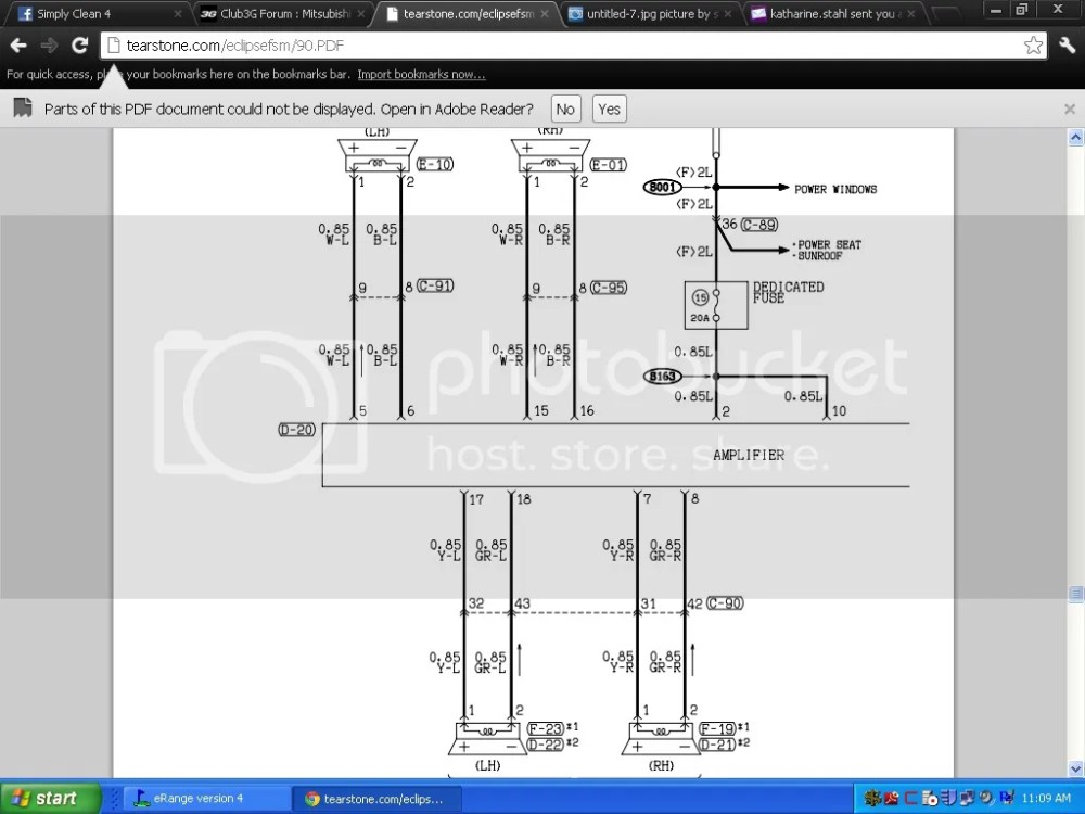 medium resolution of mitsubishi infinity amp wiring diagram 38 wiring diagram car stereo amp wiring chrysler infinity amp wiring diagram