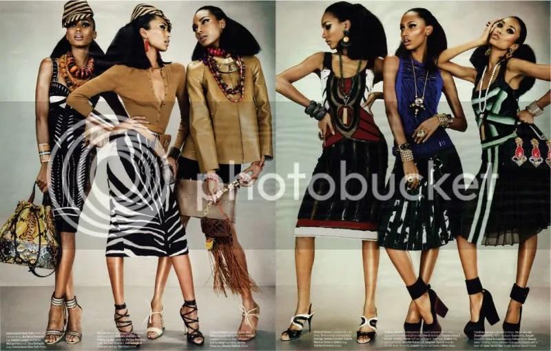 W Magazine March 2012 - Feminine Mystique @ Street Stylista