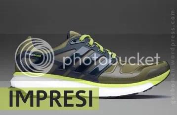Impresi Sepatu Lari  adidas Energy Boost 2 Techfit – Gorboman Running 38d7c5b31b