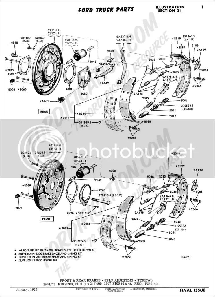 dakota brake parts breakdown