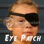 150 square eye patch