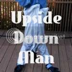 upside down man