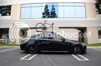 CA FS Thule Roof rack w/bike attachment - ClubLexus ...