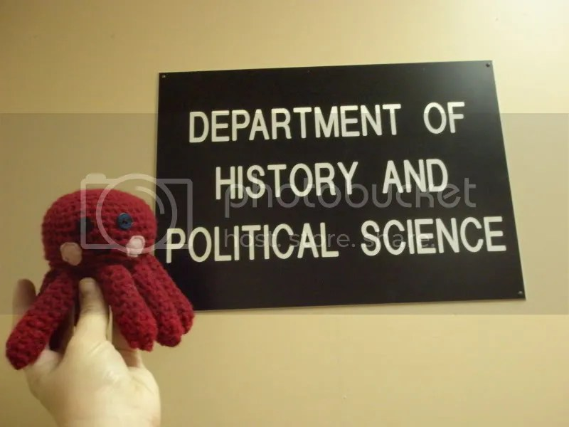 Well...technically it's History and International Studies now...but that sign is old. :P