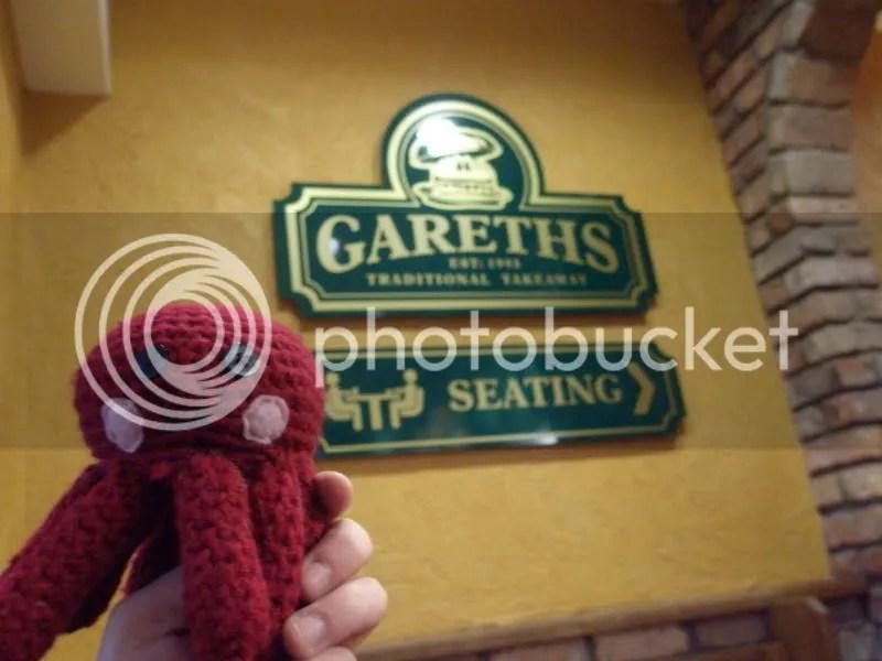 Otto at Gareth's.