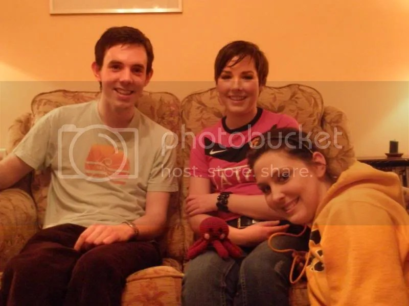 Mark, Erin, Otto, and Katie.