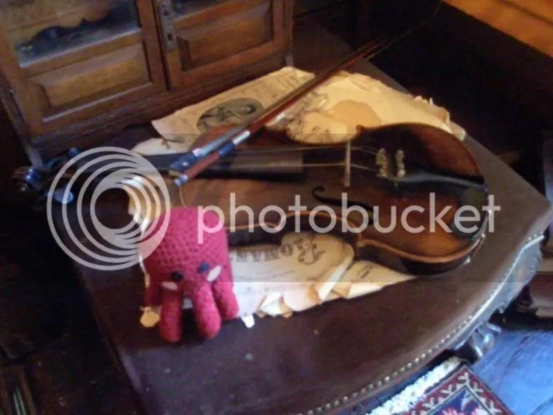 The violin.