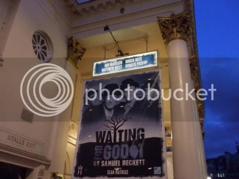 The Haymarket Theater in London.