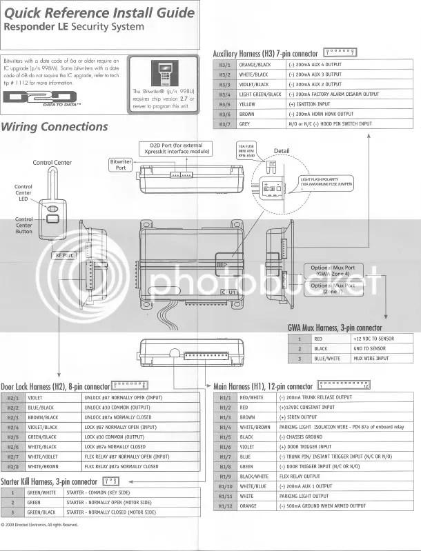 viper 560xv install manual on