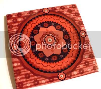 Sakura Mandala Art Tile