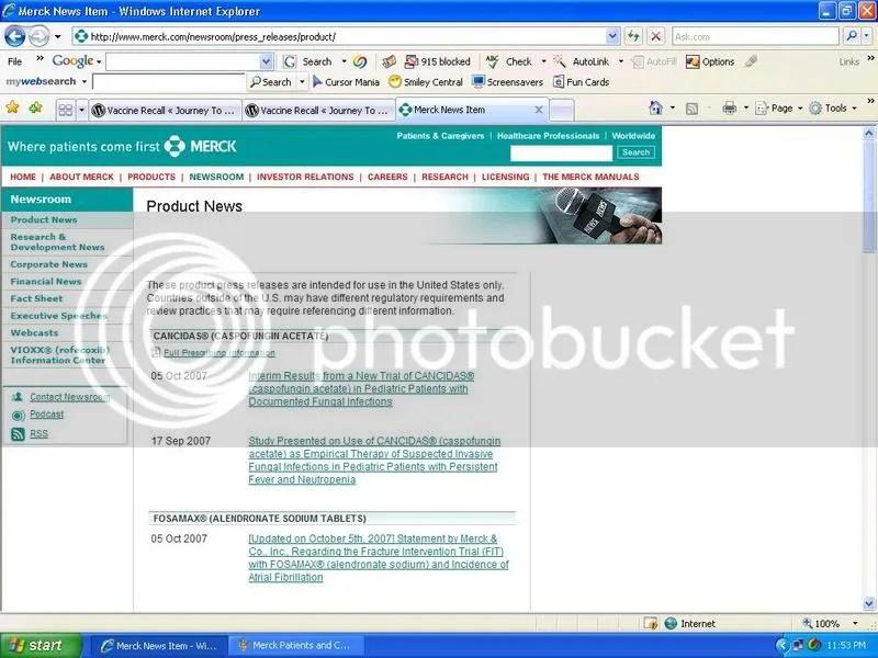 Merck Product News