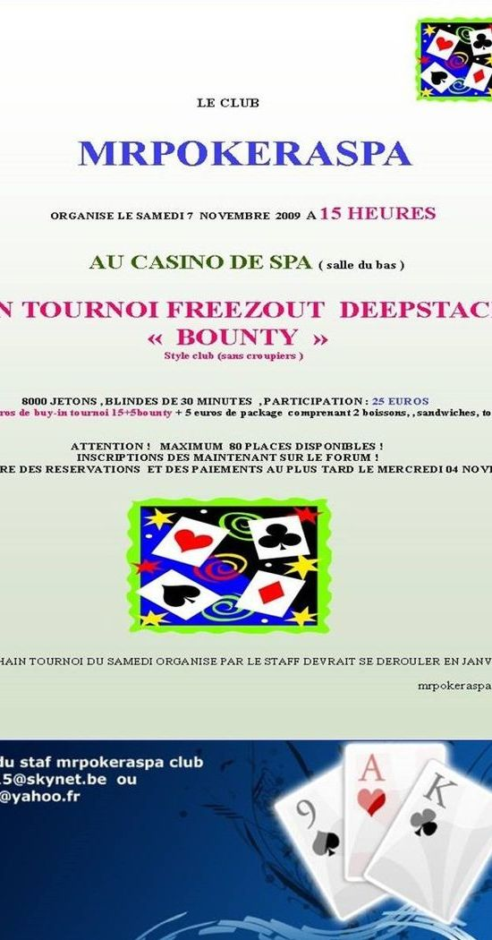 tournoi bounty