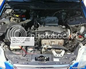 2002 Honda Civic Engine Coolant Diagram  Wiring Diagram