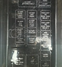 1996 dodge b2500 fuse box [ 768 x 1024 Pixel ]
