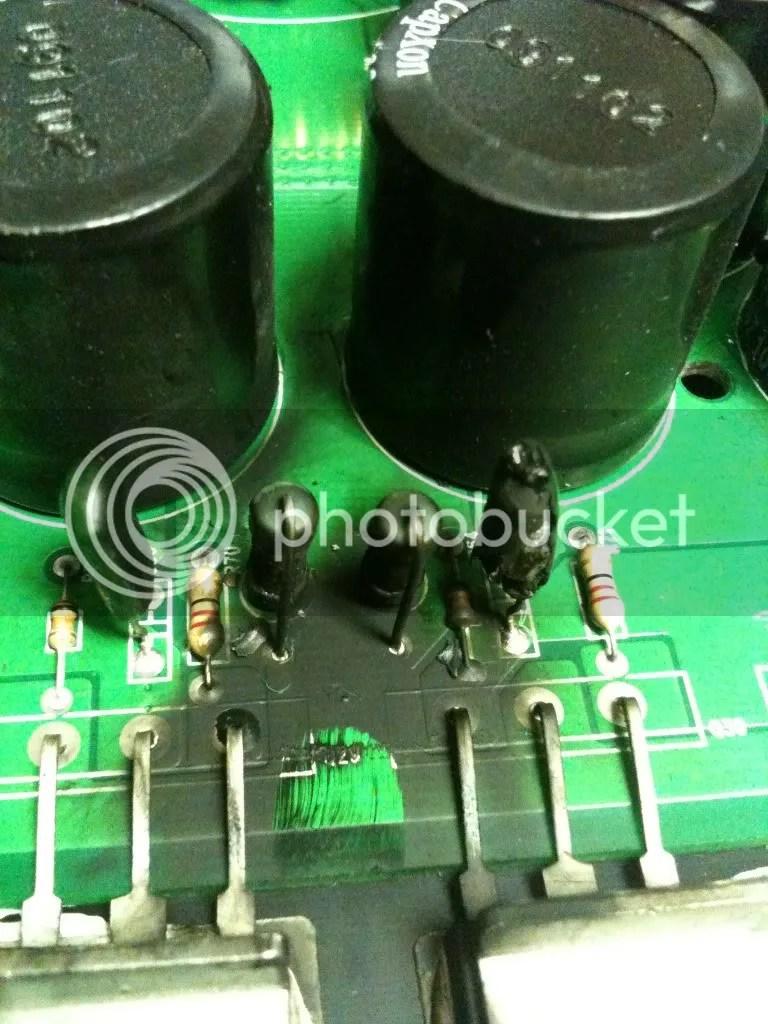Car Amp Repair : repair, SAE-1200D, Burnt, Resistors/capacitor, Burnt?, Sundown, Audio, SSA®, Forum