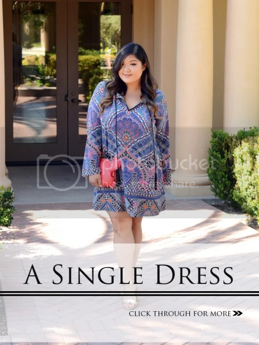 Allison Teng Curvy Girl Chic Plus Size Fashion Blog Single Dress Taryn Tunic