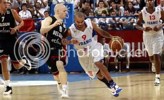 Parker participará coma seleção francesa do EuroBasket 09 (Foto em fibaeurope.com)
