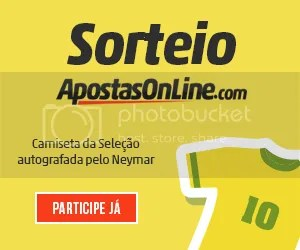 Sorteio Camiseta Neymar Apostas Online