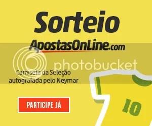 Sorteio Camiseta Neymar Apostas Online