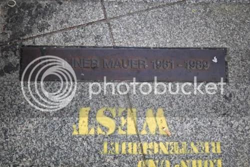 Berlin Wall Gum Potzdamer Platz 12