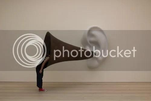 John Baldessari Beethoven's Trumpet Ear Saatchi Gallery