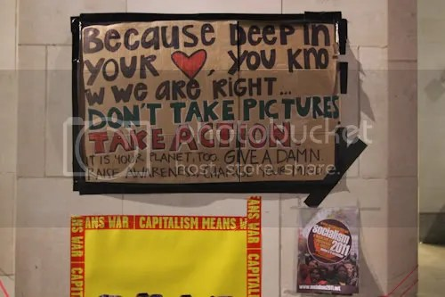 Occupy St Paul's London Camp 4