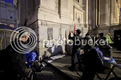 Occupy St Paul's London Camp 8