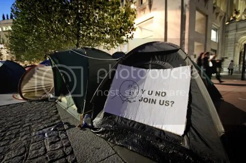 Occupy St Paul's London Camp 9