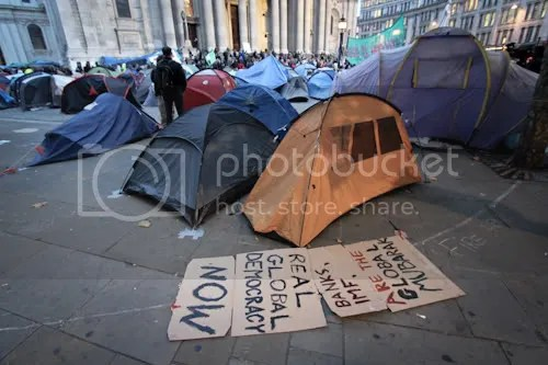 Occupy St Paul's London Protest 1