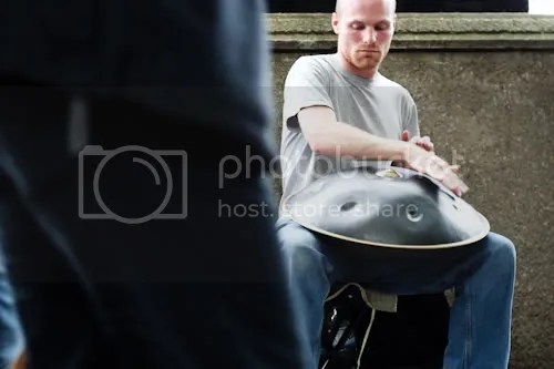 Southbank Thames Festival Hang Drum Player 1