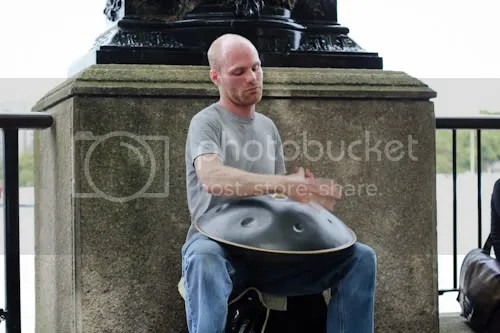 Southbank Thames Festival Hang Drum Player 4