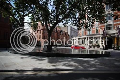 Tadao Ando Silence Fountain Connaught London 6