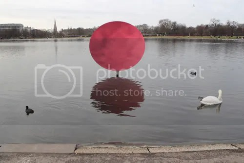Anish Kapoor Hyde Park Red 1