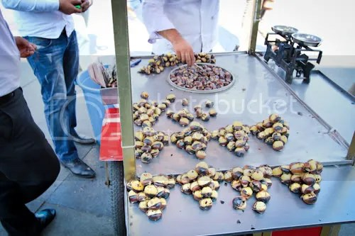 Istanbul Street Vendor Chestnuts Corn 4
