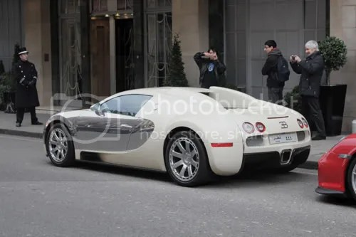 Bugatti Veyron Claridges 4