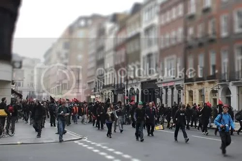 Conduit Street Cuts Protest Riot 2