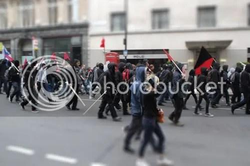 Conduit Street Cuts Protest Riot 4