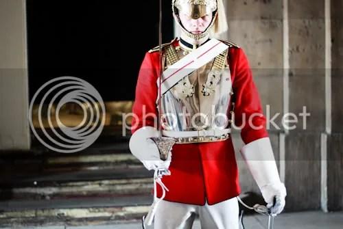 Family Visit London Horse Guards 7