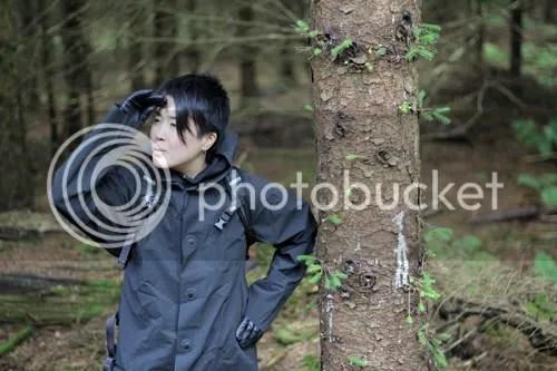 Hopton Castle Downhill Atsuko 5