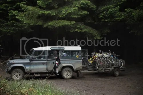 hopton castle downhill mountain bike 1