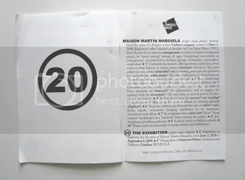 Masion Martin Margiela 20