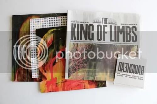 radiohead King of Limbs Newspaper Limited Edition 1
