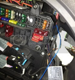 pictures of rear fuse box with the two extra fuses top right and the [ 768 x 1024 Pixel ]