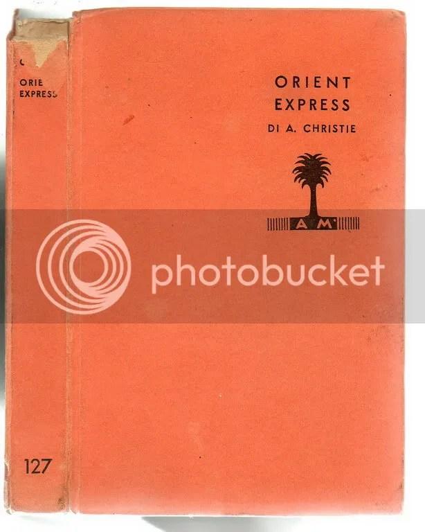 Christie Agatha ORIENT EXPRESS  1 Edizione   I Libri Gialli  Mondadori 1935  eBay