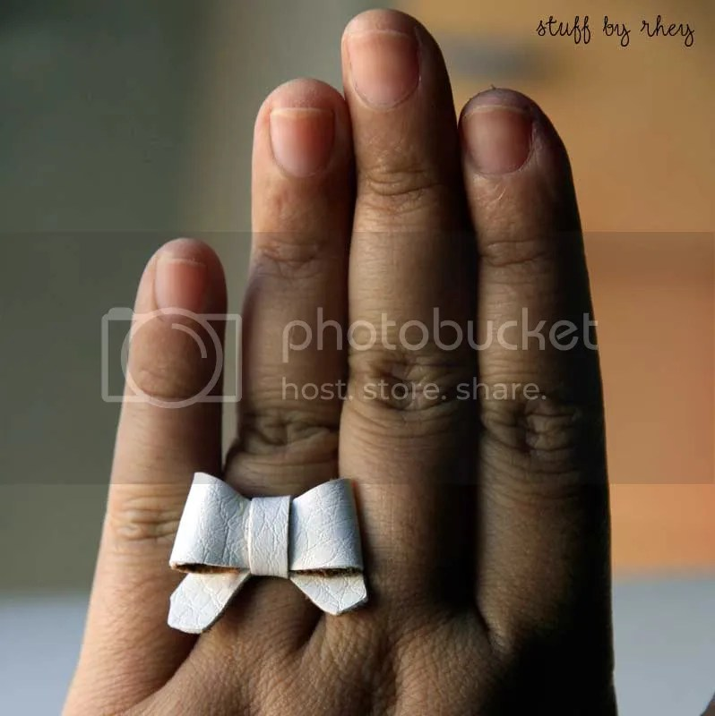 rings on my hand
