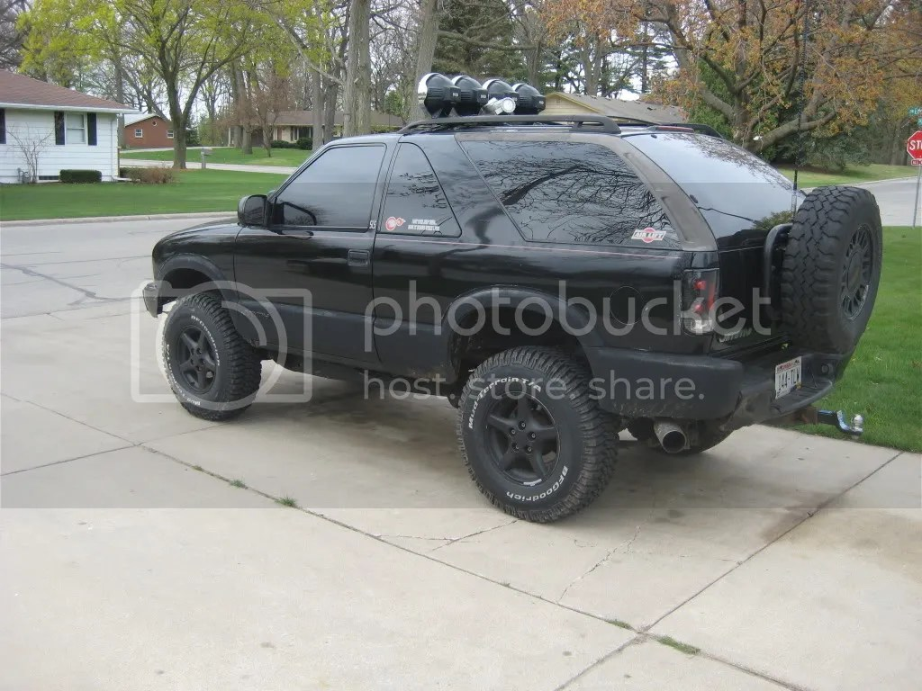 hight resolution of  aditional 1 3inches of lift zone 2inch body lift 1997 pontiac firebird 16inch rims and 265 75 16 32 2inch tire treadwright guard dog m t s