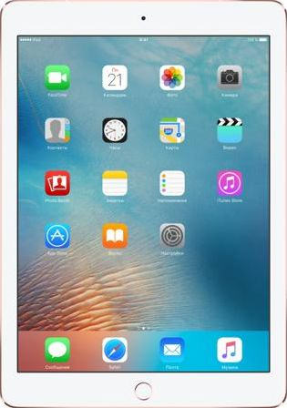 Планшет Apple iPad Pro 9.7&quot Wi-Fi + Cellular 256GB Rose Gold MLYM2RU, A